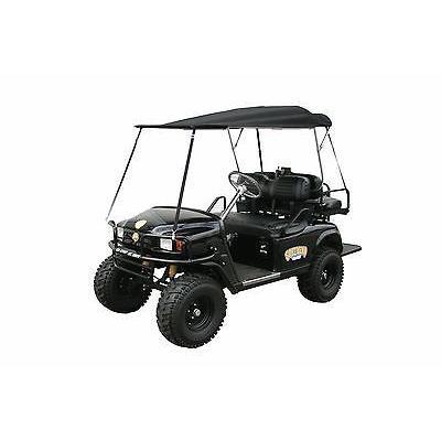 海外直輸入 カー 車 カスタム パーツ E-Z-GO Southern Rods Folding Golf Cart Top Removable Club Cart EZ GO 黒 Universal