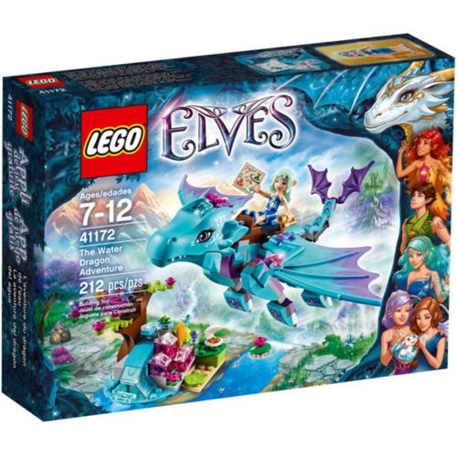 レゴ ブロック セット LEGO Elves Water Dragon Adventure Magic Power Flying Building Block Kids Toy Fun