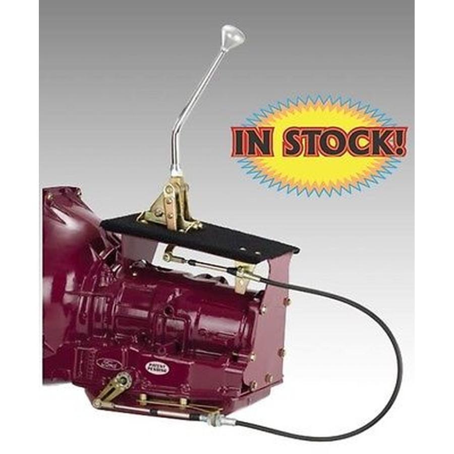 """車 カスタム パーツシフター Lokar Cable Operated Shifter for GM 700R4 w/ 16"""" Bench Bend Lever COS6700GM"""