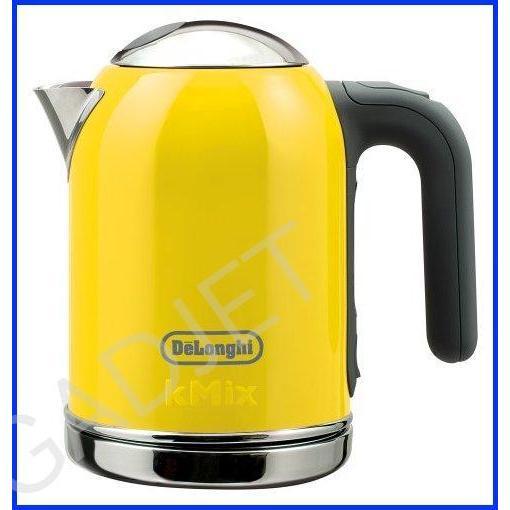 DeLonghi kmix boutique kettle electric 0.75L (Yellow) SJM010J-YW