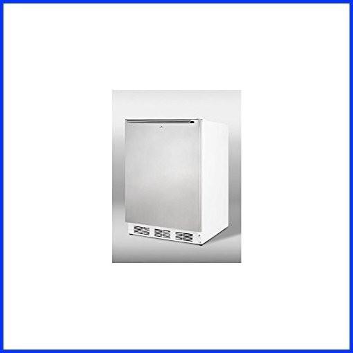 Summit VT65ML7SSHHADA Upright Freezer, Stainless Steel