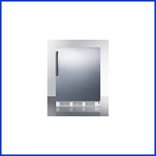 Summit VT65MCSS Upright Freezer, Stainless Steel