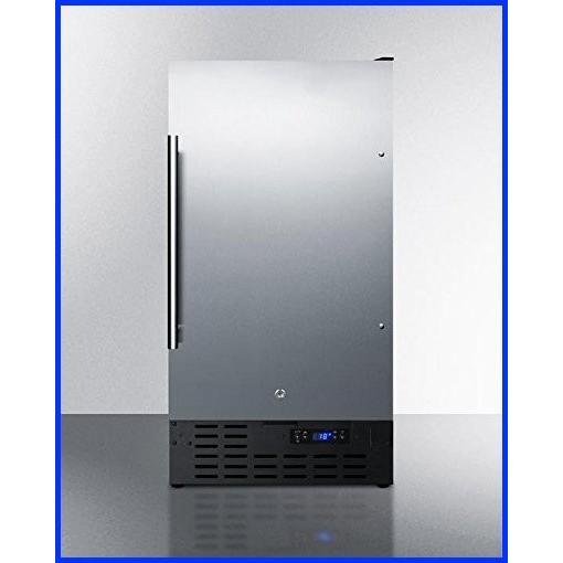 Summit SCFF1842CSSADA Upright Freezer, Stainless-Steel