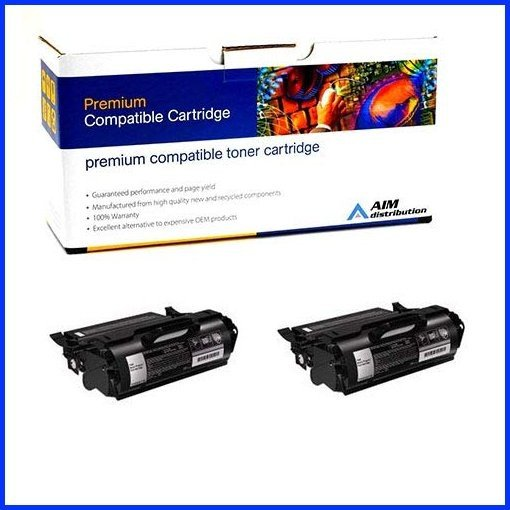 AIM Compatible Replacement for Lexmark X651//X652//X654//X656//X658 Jumbo High Yield Toner Cartridge - Generic X651A11AJ2PK 2//PK-40000 Page Yield