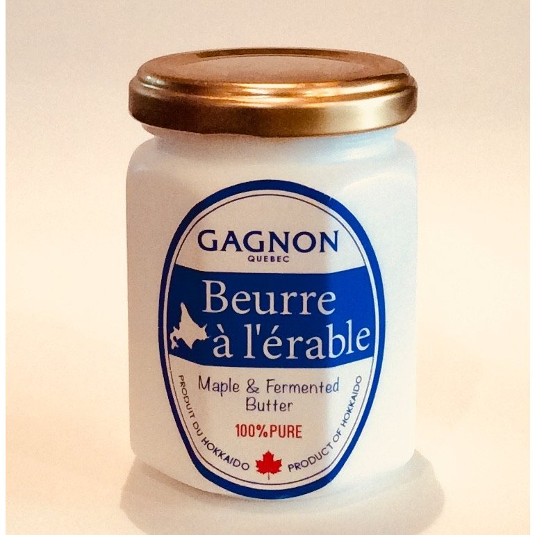 【GAGNON】北海道醗酵バター&メープル [110g]  ※冷蔵便にて発送 gagnon-maple