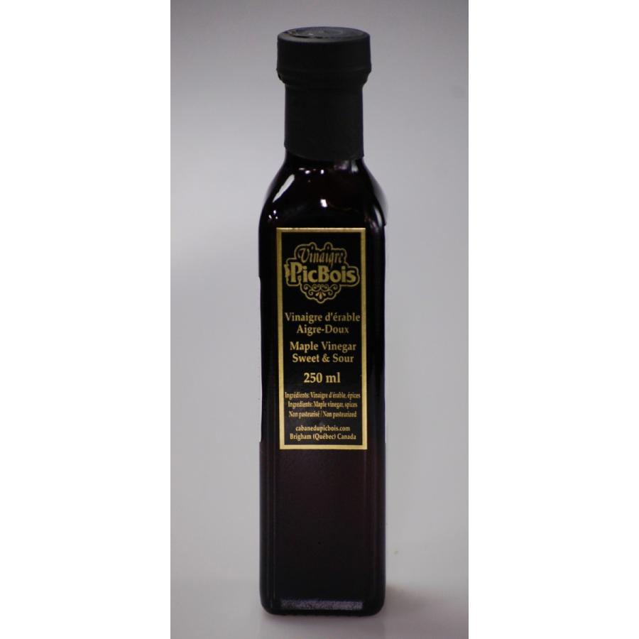 自然発酵 CABANE DU Pic Boisメープルヴィネガー 250ml|gagnon-maple