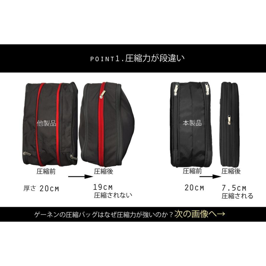 Gahnen ゲーネン ハイパワー 圧縮 バッグ トラベルポーチ YKK ファスナー ポーチ gahnen-japan 02