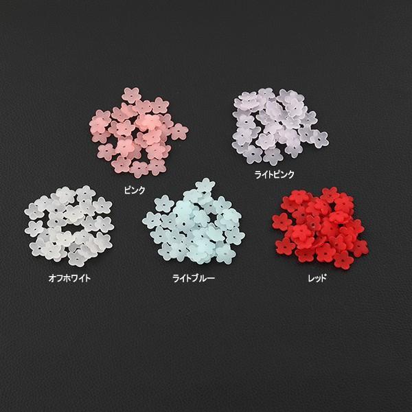 アクリル製お花のパーツ 約15g入り 2018 ストアー 人気 10 24入荷