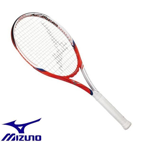 ◆◆【ガット張りサービス】 <ミズノ> MIZUNO F TOUR 300(テニス) 63JTH971 (01:ホワイト×オレンジ)