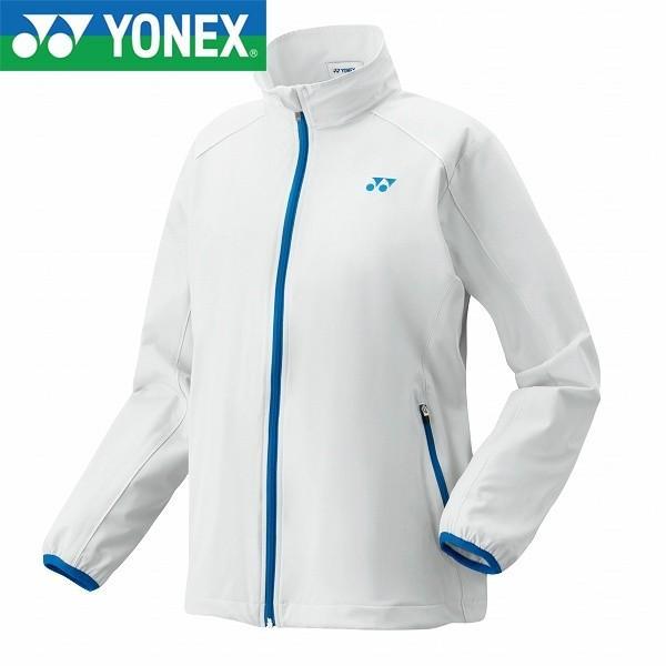 ◆◆ <ヨネックス> YONEX ウィメンズウインドウォーマーシャツ 78052 (011:ホワイト) テニス