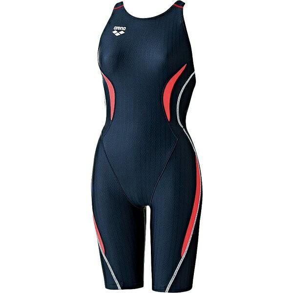 ◆◆○送料無料 メール便発送 <アリーナ> ARENA (ジュニア(ガールズ)競泳用水着(Fina承認))ジュニアハーフスパッツ(着やストラップ) ARN7050WJ-NVBR(arn