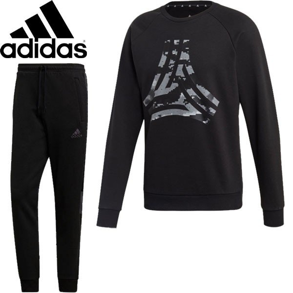 ◆◆ <アディダス> 【adidas】19FW メンズ TANGO STREET スウェットクルートップG&パンツ サッカー トレーニングウェア スウェット上下セット FYC74-FWS97