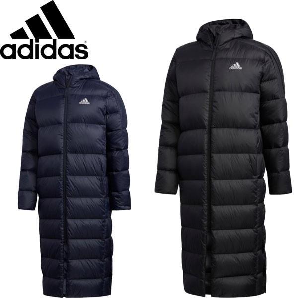 ◆◆ <アディダス> 【adidas】19FW メンズ BOS ロング ライトダウン パーカー アウトドア ロングコート ダウンコート GDT78