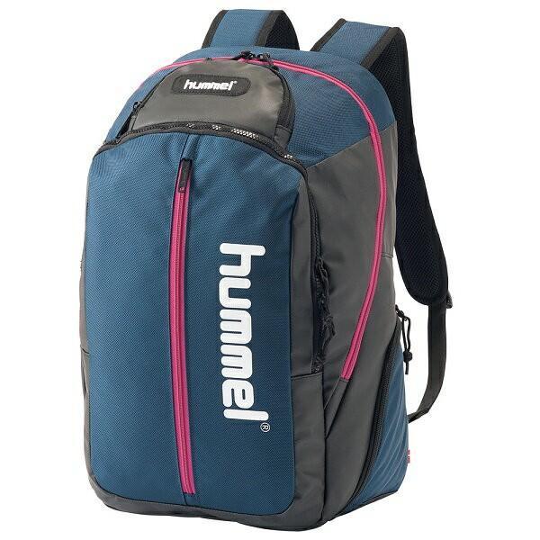 ◆◆ <ヒュンメル> HUMMEL バックパック(7024:ネイビー×S.ピンク) ヒュンメル デイパック・ザック(hfb6105-7024-mkn-hum)