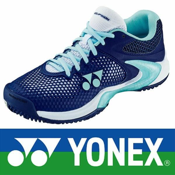 ◆◆ <ヨネックス> 【YONEX】パワークッションエクリプション2 L GC クレー・砂入り人工芝コート用 テニスシューズ レディース(shte2lgc-ynx2)