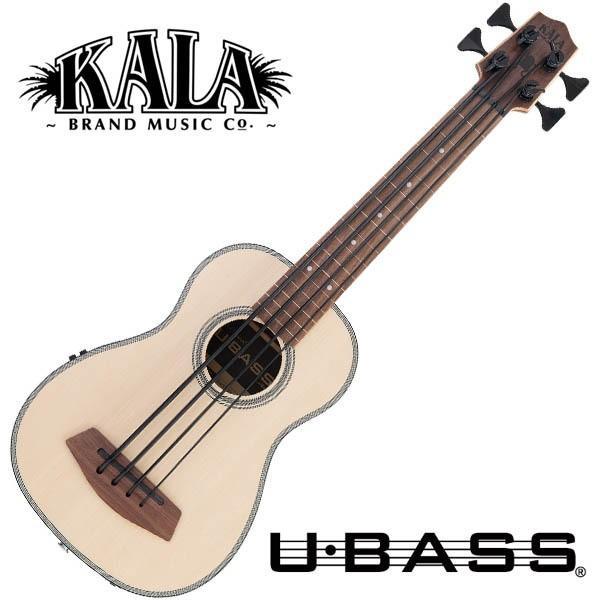 KALA UBASS-SSMHG-FL (フレットレス) ウクレレベース【カラ】