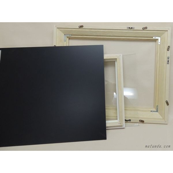 KL-02 F8号 (455×380mm) 油絵用額縁 油彩用額縁 木製 油彩額縁 ブラウン/ナチュラル 油彩額 大仙 アウトレット品|gakubutiya|05