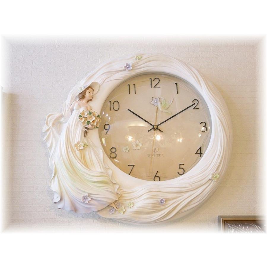 可愛い立体デザイン・壁掛け時計 時計 壁掛け