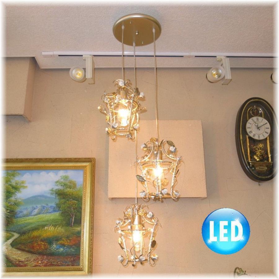 【送料無料!】可愛いデザイン アンティーク調 クリスタル LED ペンダント照明 シャンデリア 照明 照明器具LED シーリング ライト 豪華 豪華 おしゃれ アンティーク