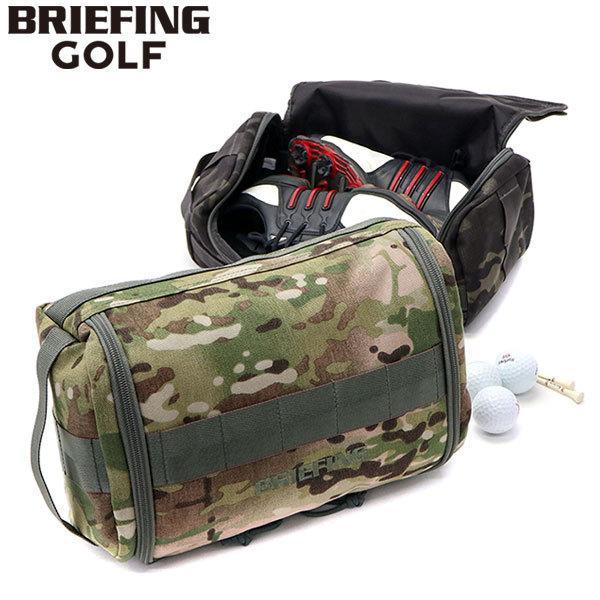 日本正規品 ブリーフィング ゴルフ BRIEFING GOLF シューズケース SHOES CASE-2 メンズ レディース 迷彩 カモ BRG191A14
