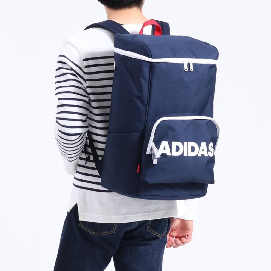 セール アディダス リュック adidas スクエア リュックサック 通学 通学用 通学リュック B4 A4 31L 大容量 軽量 男子 女子 中学 高校 57597|galleria-store|06