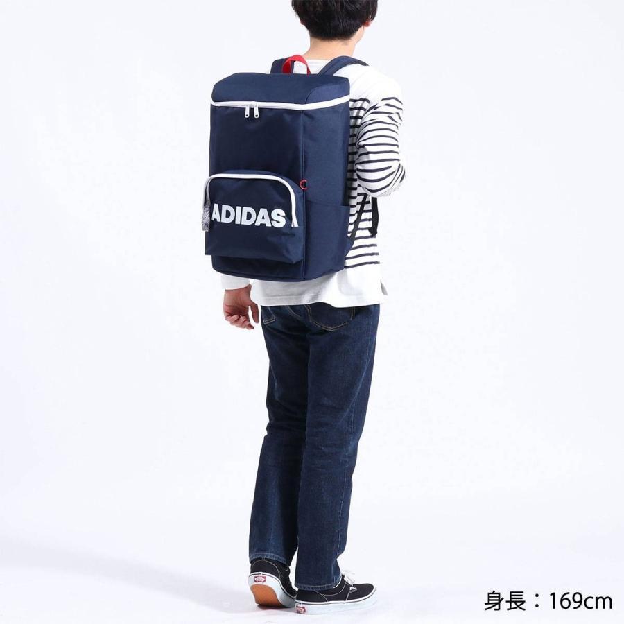 セール アディダス リュック adidas スクエア リュックサック 通学 通学用 通学リュック B4 A4 31L 大容量 軽量 男子 女子 中学 高校 57597|galleria-store|07