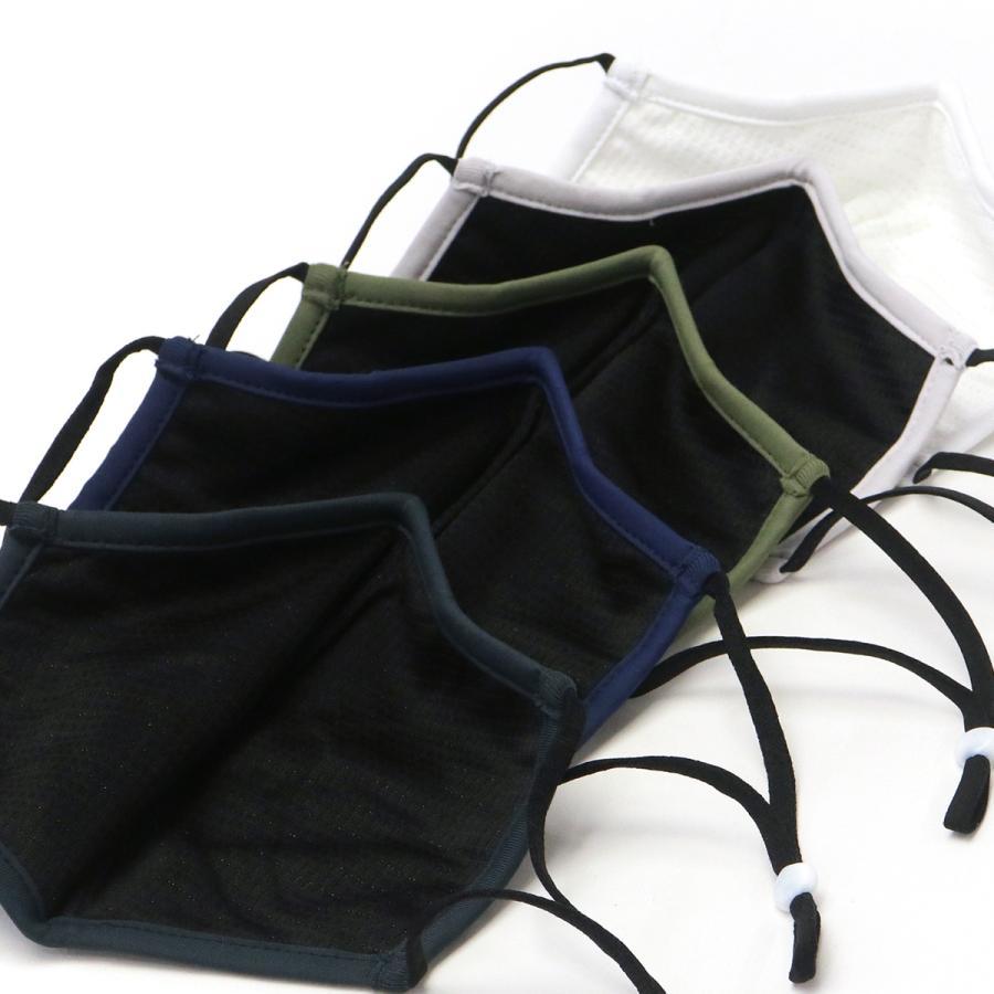 【メール便】日本正規品 ブリーフィング ゴルフ マスク BRIEFING GOLF 洗える 布マスク 3D WASHABLE CLEANSE MASK-2 抗菌 防臭 メンズ BRG211F55|galleria-store|06