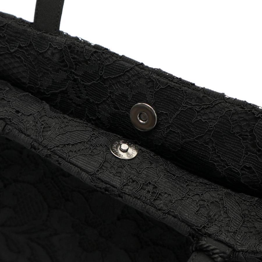 9/24迄★最大16%獲得 フィルフルール フォーマルバッグ fil fleur タッセル付きレーストートバッグ ブラックフォーマル 黒 バッグ レディース 6nr4203|galleria-store|15