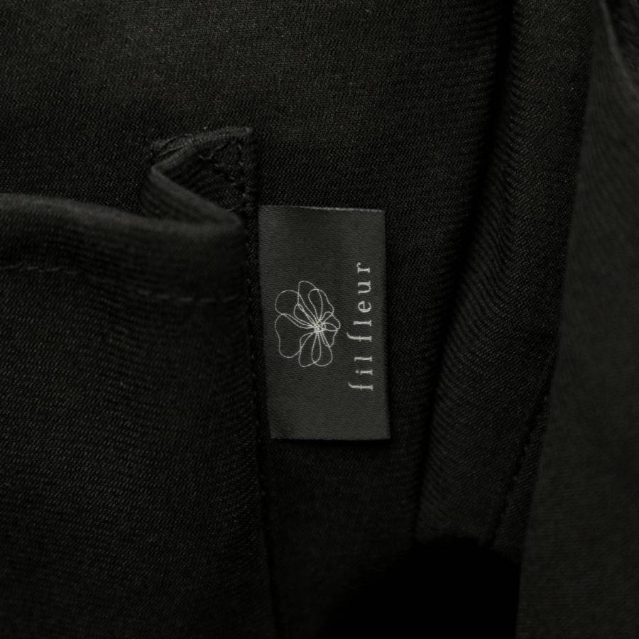 9/24迄★最大16%獲得 フィルフルール フォーマルバッグ fil fleur タッセル付きレーストートバッグ ブラックフォーマル 黒 バッグ レディース 6nr4203|galleria-store|18