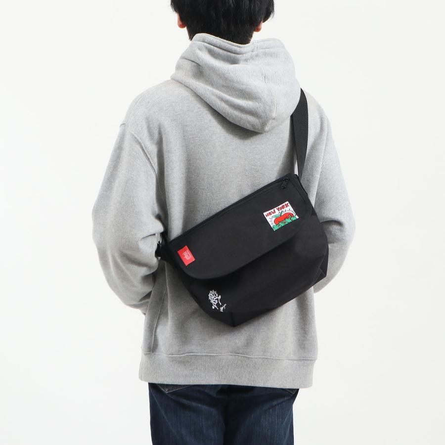 日本正規品 マンハッタンポーテージ ショルダーバッグ Manhattan Portage Casual Messenger Bag JR Keith Haring 斜めがけ MP1605JRKH21 galleria-store 07