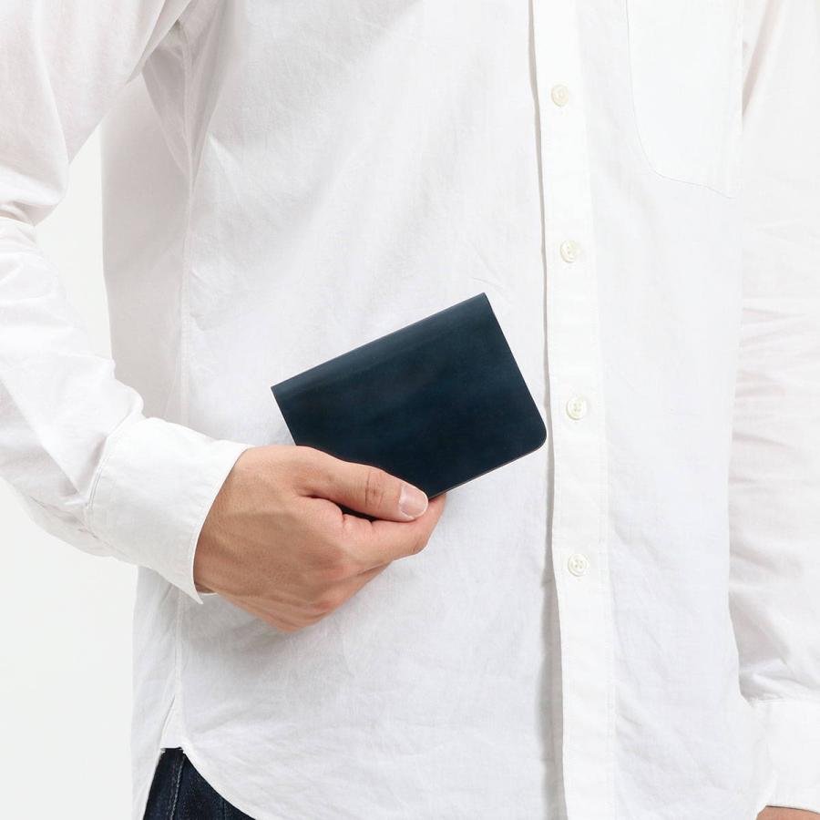 9/19限定★最大35%獲得 ブックマークプレゼント スロウ 財布 SLOW cordovan mini wallet ミニ財布 二つ折り財布 かぶせ 本革 日本製 メンズ レディース SO775J|galleria-store|06