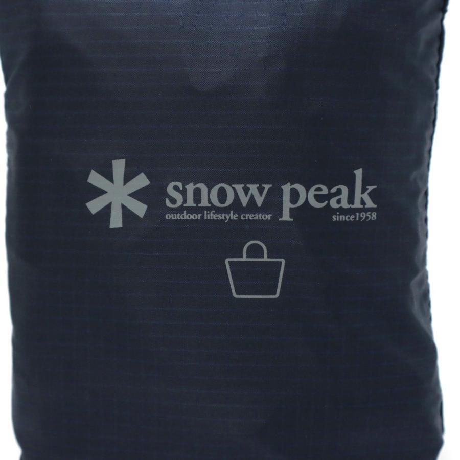 スノーピーク トートバッグ snow peak バッグ ポケッタブル トートバッグ Type01 トート パッカブル B4 17L メンズ レディース UG-62400 galleria-store 20