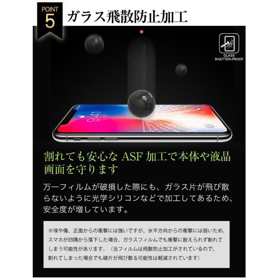 ガラスフィルム 保護フィルム 強化ガラス iPhone 12 12pro 12mini 12promax 11 11pro XR iphone8 SE se2 新型se グレア 光沢 2.5D|galleries|11