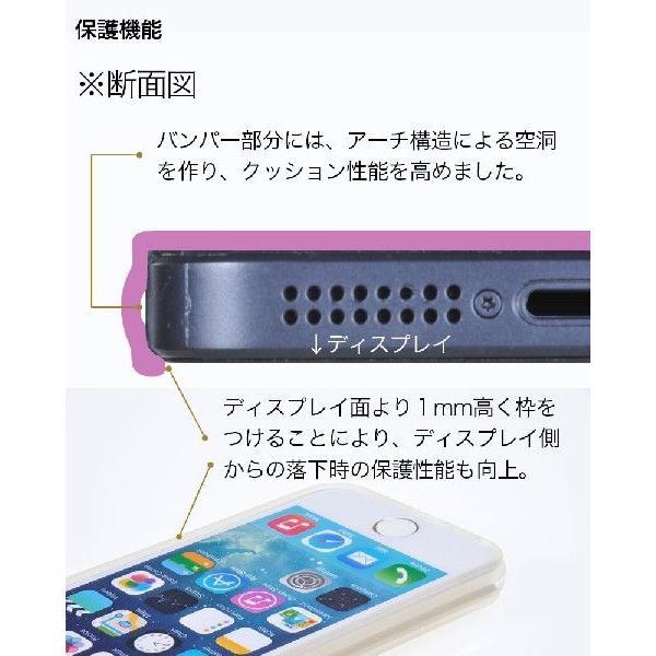 スマホケース 耐衝撃 iPhone ケース SE 初代 5s 5 カバー シリコン 4インチ アイフォン ケース 透明 半透明 クリア シリコン TPUハード さらさら 衝撃吸収 galleries 05