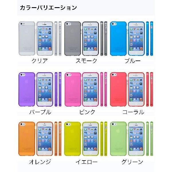 スマホケース 耐衝撃 iPhone ケース SE 初代 5s 5 カバー シリコン 4インチ アイフォン ケース 透明 半透明 クリア シリコン TPUハード さらさら 衝撃吸収 galleries 06