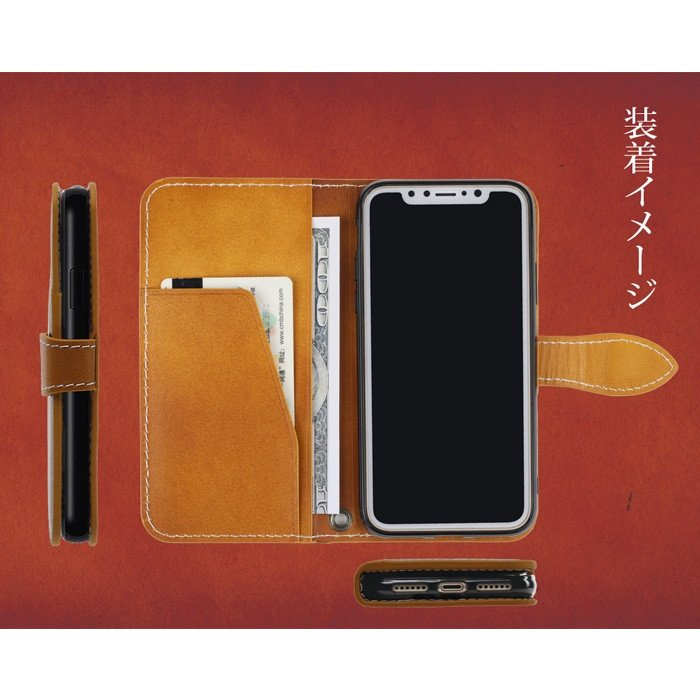 iphone se2 ケース 手帳型 革 本革 レザー iphone XR 8 スマホケース se 7 XS XS XSMAX 携帯ケース アイフォン iPhoneケース アイホン|galleries|06