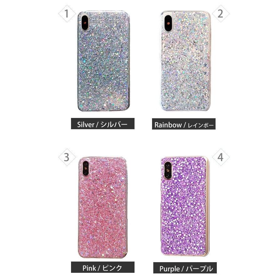 iphone se2 ケース 11 11pro se XR 8 7 キラキラ ラメ シリコン アイフォン 11proMAX 可愛い おしゃれ TPU ケース 透明 半透明 クリアケース|galleries|08