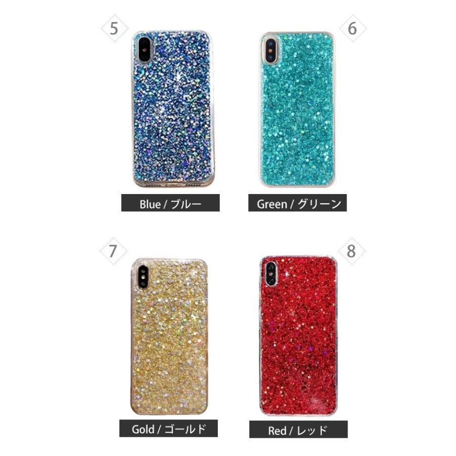 iphone se2 ケース 11 11pro se XR 8 7 キラキラ ラメ シリコン アイフォン 11proMAX 可愛い おしゃれ TPU ケース 透明 半透明 クリアケース|galleries|09