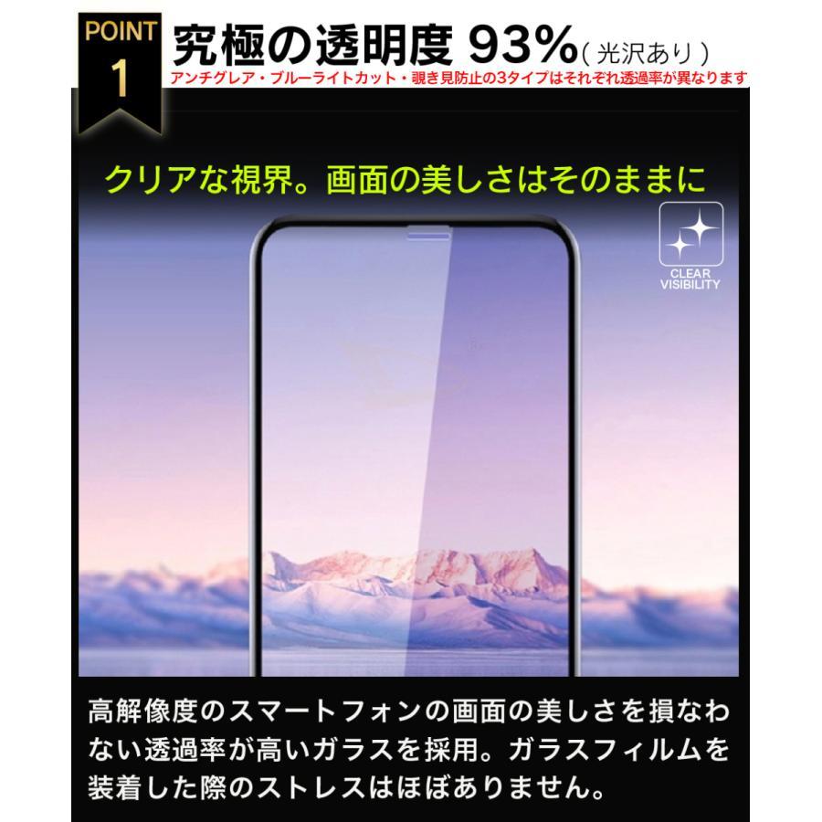 ガラスフィルム 保護フィルム 強化ガラス iPhone 12 12pro 12mini 12promax se2 8 7 11proMax XsMax 8plus ブルーライトカット|galleries|04