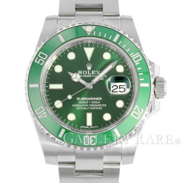 新発売 ロレックス サブマリーナ グリーン デイト ランダムシリアル ルーレット 116610LV ROLEX 腕時計, ロッジ プレミアムショップ 4a01958d