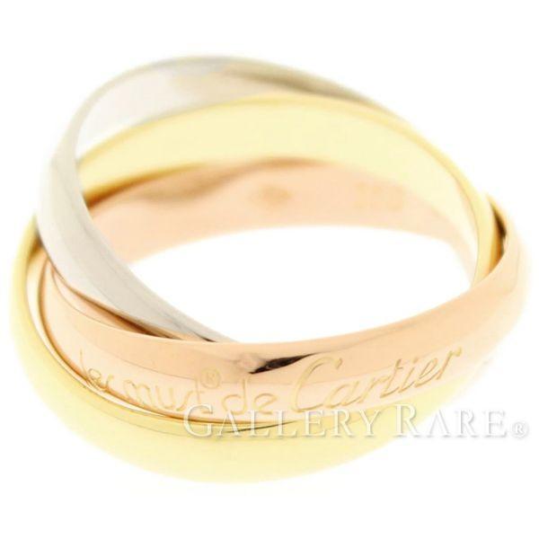 2019人気特価 カルティエ リング トリニティ ドゥ カルティエ リング K18PGピンクゴールド トリニティ K18WGホワイトゴールド K18YGイエローゴールド スリーゴールド カルティエ Cartier 指輪, ドールハウス Morefun:a8338f1c --- airmodconsu.dominiotemporario.com
