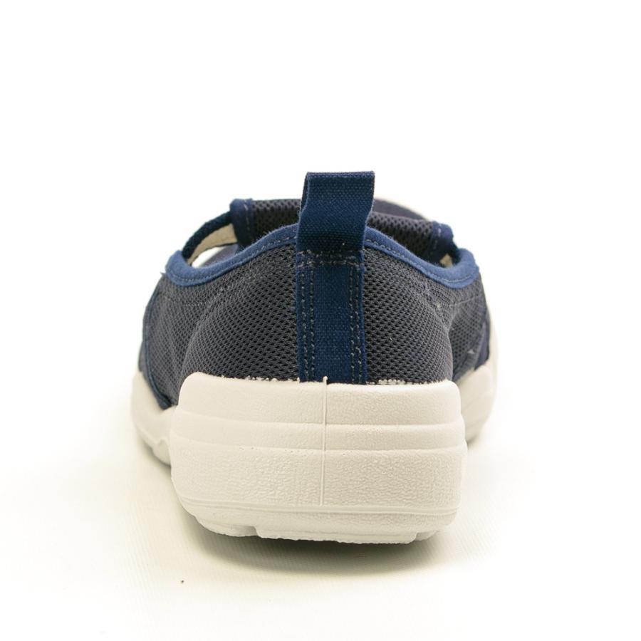 ムーンスター 介護 リハビリ 大人の上履き01 室内履き 日本製 男女兼用 白 ホワイト ネイビー moonstar 21-28cm|gallerymc|12