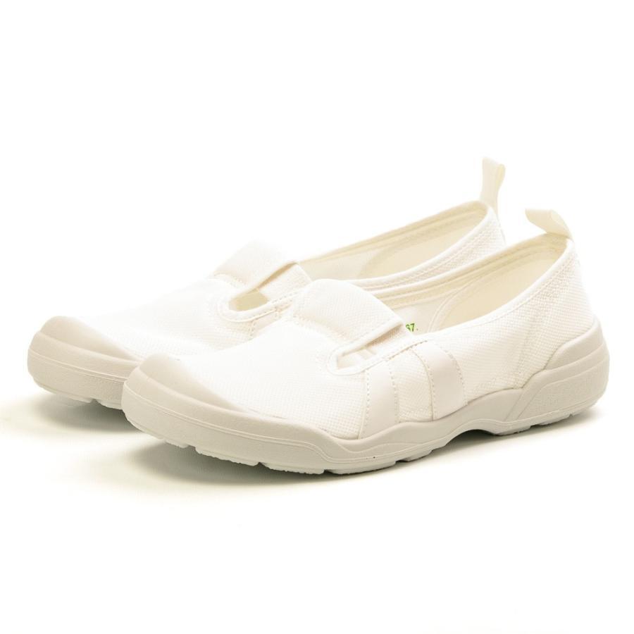 ムーンスター 介護 リハビリ 大人の上履き01 室内履き 日本製 男女兼用 白 ホワイト ネイビー moonstar 21-28cm|gallerymc|05