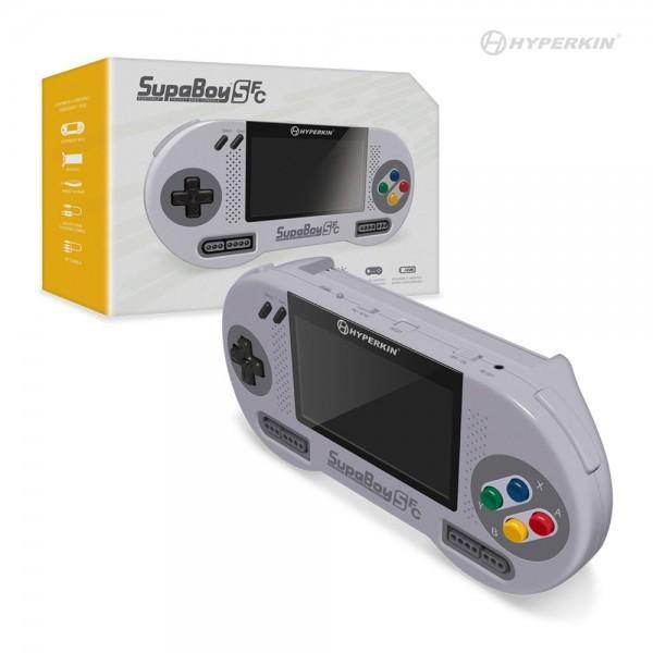 【HYPERKIN】SupaBoySFC スパボーイSFC スーパーファミコン携帯機【新品】