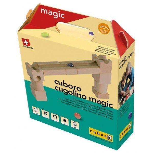 cuboro Cugolino Magic キュボロ クボロ クゴリーノ マジック 10ピース 【並行輸入品】