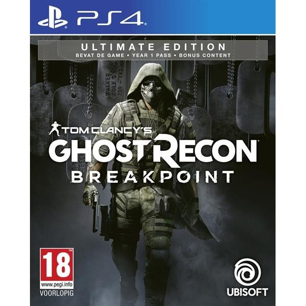 Tom Clancy's Ghost Recon Breakpoint - Ultimate Edition (輸入版) - PS4