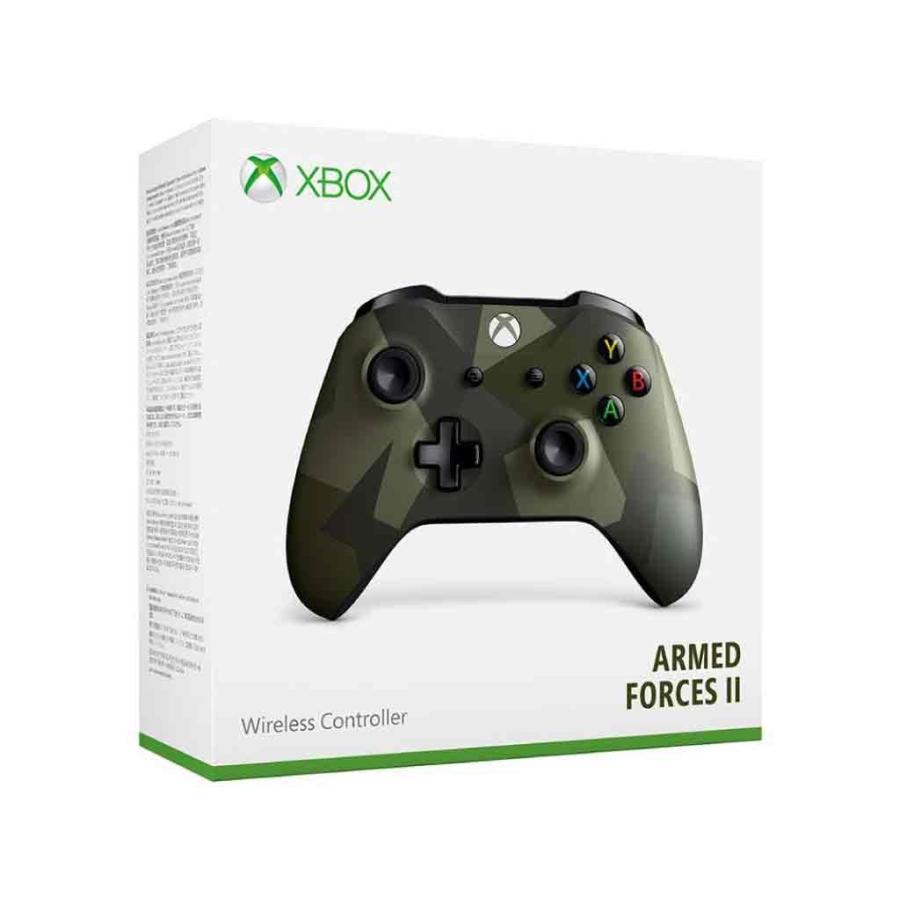 【新品】XboxOne ワイヤレスコントローラー(アームド フォーセスII)/新品未開封品ですがパッケージに少し傷み汚れ等がある場合がございます