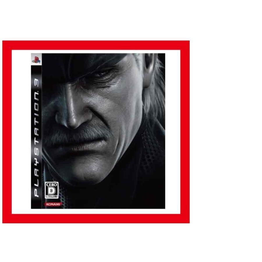 【新品】PS3 METAL GEAR SOLID 4 (メタルギアソリッド4 ガンズオブザパトリオット) 【通常版】/外装に少し傷みや汚れ等がある場合がございます