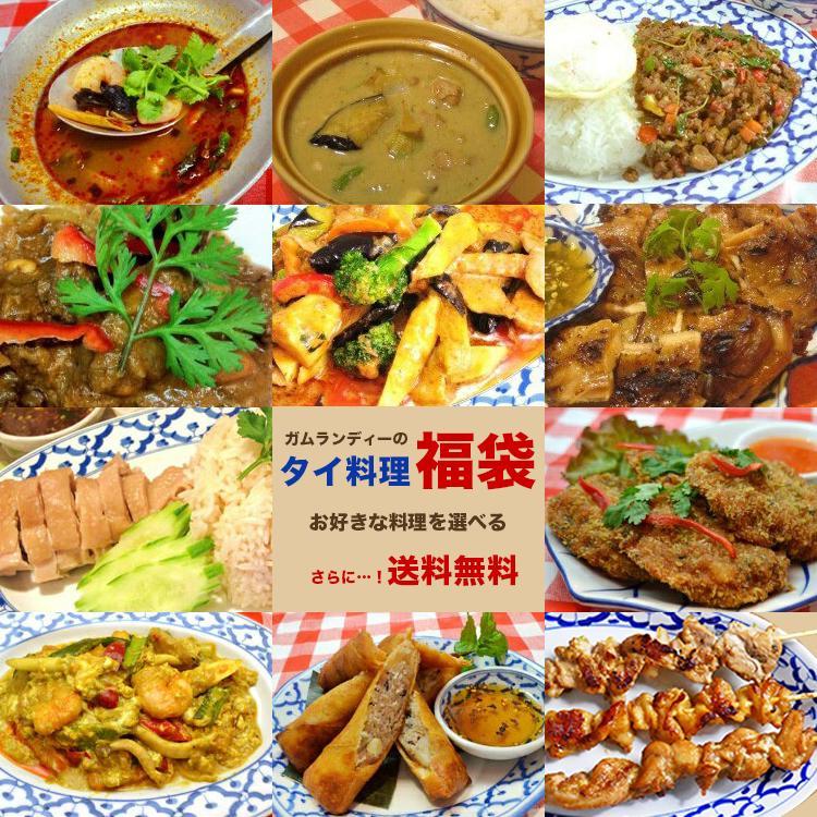 【送料無料】選べる5種類!ガムランディーのタイ料理福袋|gamlangdii-store|02