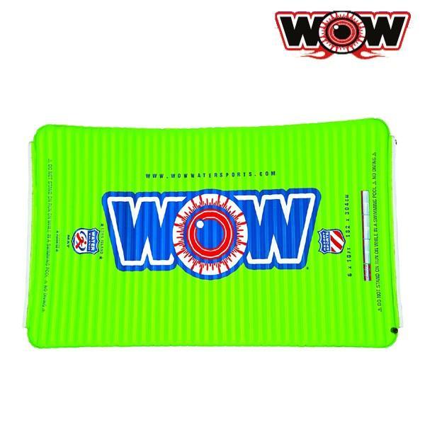 WOW(ワオ) ウォーターウォークウェイ 6×10FT グリーン ビーチフロート